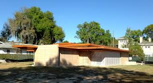 new frank lloyd wright house constructed at florida southern