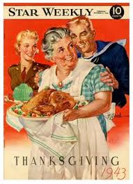 vintage anthropomorphic thanksgiving greeting card cards of