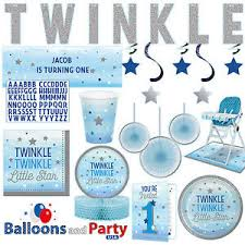 twinkle twinkle party supplies twinkle boy s 1st birthday party supplies tableware