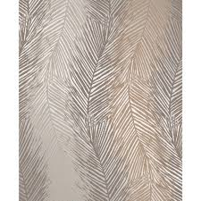 decor decorline wheaton bronze leaf wave wallpaper 2735 23343