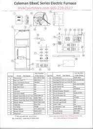 eb10c coleman electric furnace parts u2013 hvacpartstore