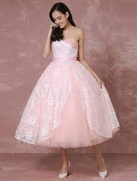 pink lace wedding dress blush wedding dress lace bridal gown pink gown tulle