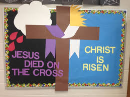 Easter Decorations For A Church by Best 25 Easter Bulletin Boards Ideas On Pinterest Easter Images