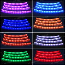 Led Strip Lights For Car Interior by 12v Car Interior Rgb Colour Led Strip Light Wireless Music Control