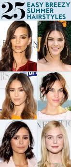 of the hairstyles images 25 easy hairstyles to wear for summer instyle com