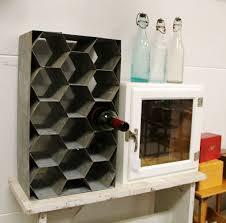 found in ithaca galvanized steel wine rack sold