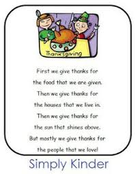 for thanksgiving type or write out this poem then add your child s