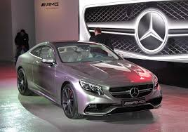mercedes s63 amg coupe 2015 2015 mercedes s63 amg 4matic coupe expected this fall