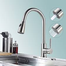 kitchen faucet plate touch on kitchen sink faucets homelody single handle pull