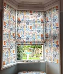 Bay Window Roller Blinds Roman Blinds For Bay Windows Roman Blinds Fitted In 1930u0027s