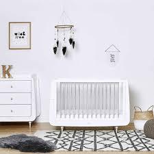 Grey Nursery Furniture Sets Snuzkot Rococo 2 Nursery Furniture Set In Grey