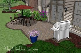 Small Patio Designs On A by Great For A Diy Project The Small Patio Design On A Budget