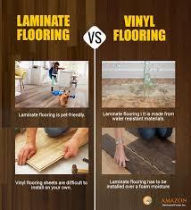 is vinyl flooring better than laminate whats better vinyl or laminate flooring vinyl flooring