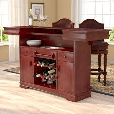 Home Bar Table Astoria Grand Garrard Home Bar Reviews Wayfair
