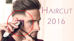 how to give myself the best hairstyle with a widows peak for men haircut 2016 self haircut inspiration youtube