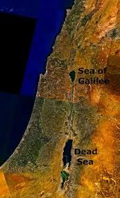 Gennesaret Map Sea Of Galilee Simple English Wikipedia The Free Encyclopedia
