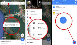 Maps For Business Cards How To Save Offline Maps On Iphone With Google Maps