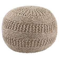 amazon com ashley benedict sphere pouf in charcoal kitchen u0026 dining
