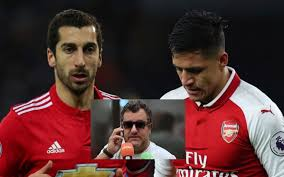 alexis sanchez wife this is the man standing in the way of alexis sanchez s move to man