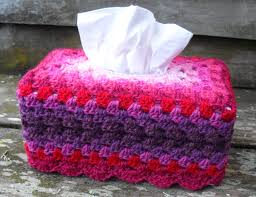 crochet knitted tissue box cover shady tissues u2026 crochet with