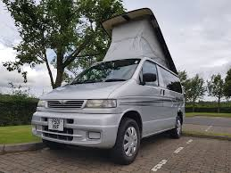 mazda van 2017 mazda bongo 2 5 diesel 7 seats camper 4 berth mini campers north