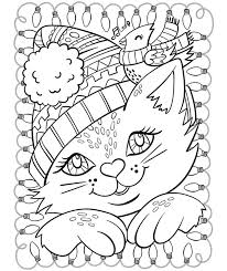 christmas free coloring pages crayola com