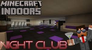 night club minecraft indoors interior design youtube