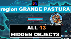 Just Garages Just Cause 3 Province Grande Pastura Complete Location Hidden