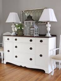 White Dining Room Buffet 12th And White Makeover Round Up Our House Six Months Later