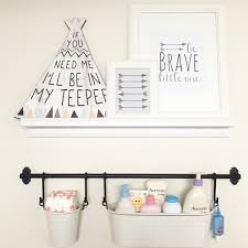 Baby Changing Wall Mounted Unit Diy Supply Shelf Diaper Changing Station Got Shelf And Pails