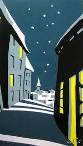 eyvind earle christmas cards dc hillier s mcm daily winter stillness