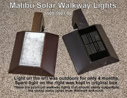 Malibu Solar Landscape Lights Are The Solar Cells On Your Pathlights Going Cloudy Solar