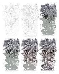 mythology sleeve design the of cris luspo