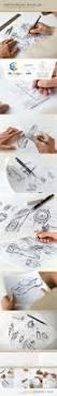 sketchbook mock up 7188571 free download photoshop vector stock