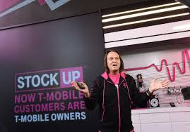un carrier customers getthanked with t mobile stock t mobile