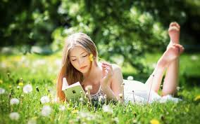 wallpaper of beautiful girls are reading the books wikichoices com