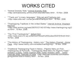 works cited correct format for websites ppt