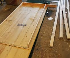 How To Build A Floor For A House Remodelaholic Build A Farmhouse Table For Under 100