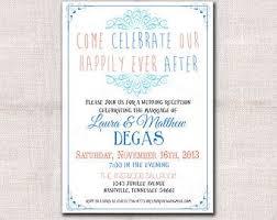 wedding invitation reception wording wording for wedding reception only invitations yourweek