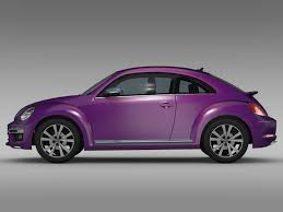 volkswagen beetle studio max 3d vw beetle pink edition concept 2015 3d model vehicles 3d models