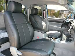 toyota leather seats clazzio covers 2005 2010 toyota tacoma pvc seat covers