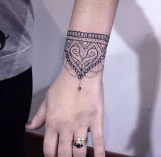 best 25 wrist bracelet tattoos ideas on pinterest bracelet