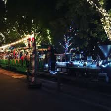 what do christmas lights represent free outing to the christmas train event at the irvine regional park