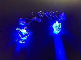 dreidel lights led light up dreidel w string