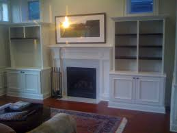 Fireplace Side Cabinets by Custom Built Ins And Wainscoting