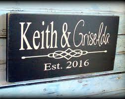 personalized wedding plaque wedding plaques etsy