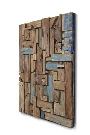 reclaimed wood wall sculpture hoome or office decor for sale