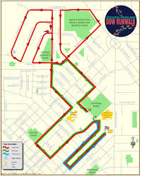 Brown Line Map Dow Runwalk Race Info