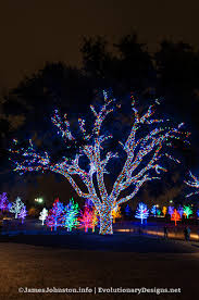 christmas lights at vitruvian park in addison