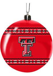 shop tech ornaments ttu raiders tree decor